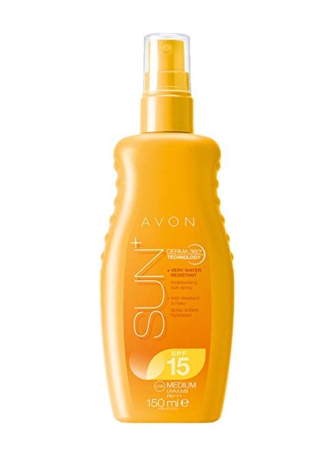 Avon Sun+ Moisturising Güneş Spreyi Spf15 150 Ml. Renkli